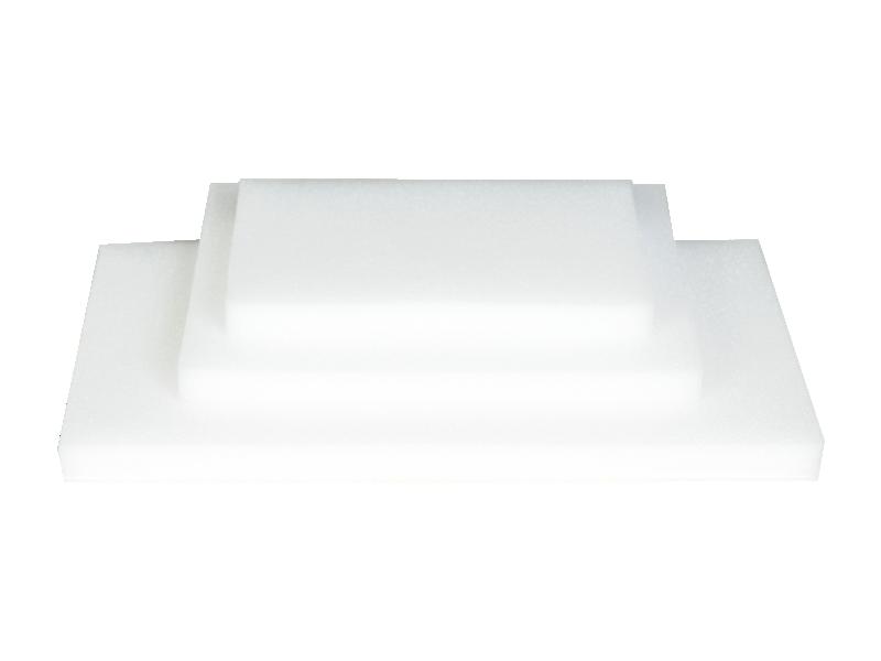 Fava Beyaz İnce Süngerli Kapama Seti
